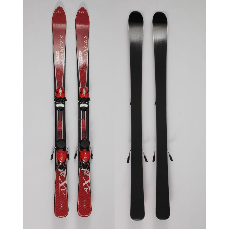 Jazdené bazárové lyže Carve Axces 130 cm