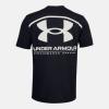 Tričko UNDER ARMOUR Performance Big Logo Black/White