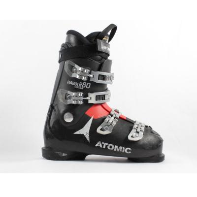 Jazdené bazárové lyžiarky ATOMIC Hawx R80 Magna