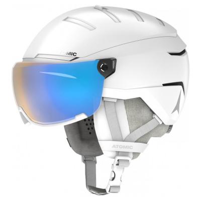 Lyžiarská prilba ATOMIC Savor GT s fotochromatickým štítom Biela