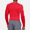 Kompresné tričko UNDER ARMOUR HG Armour LS Red
