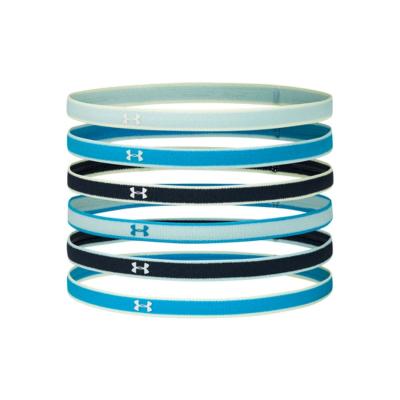 UNDER ARMOUR Mini Headbands 6pack Blue/White