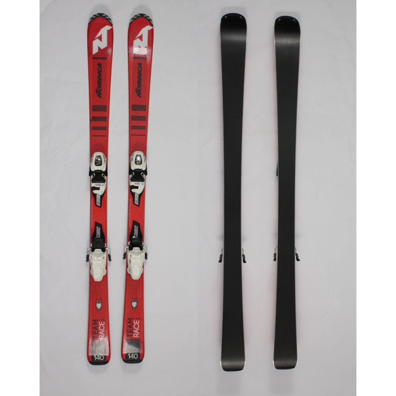 Jazdené bazárové lyže NORDICA Team Race J II 140 cm