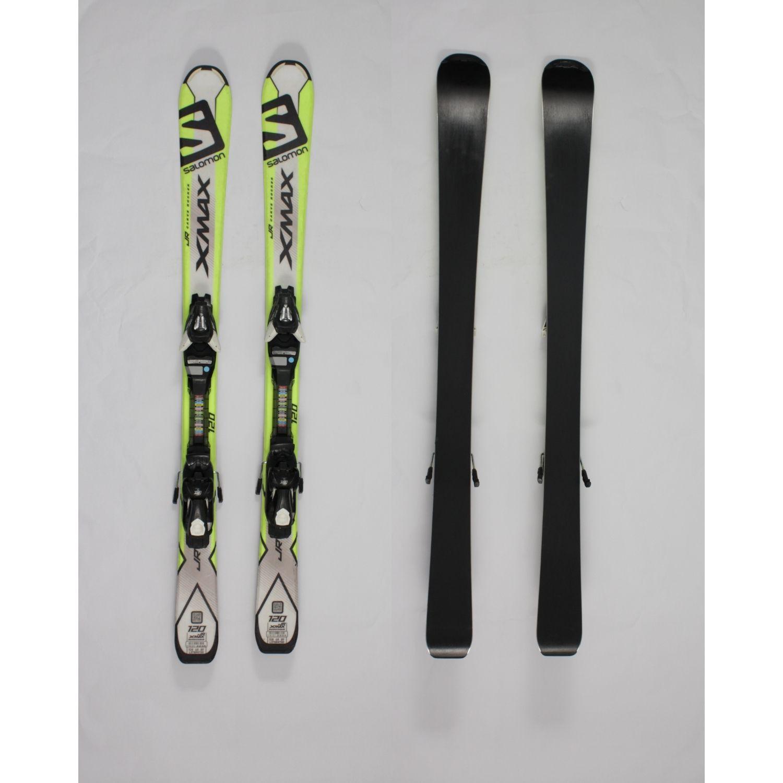 Jazdené bazárové lyže SALOMON Xmax 120 cm