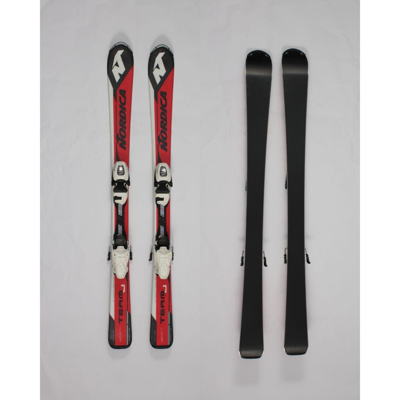 Jazdené bazárové lyže NORDICA Team J 120 cm
