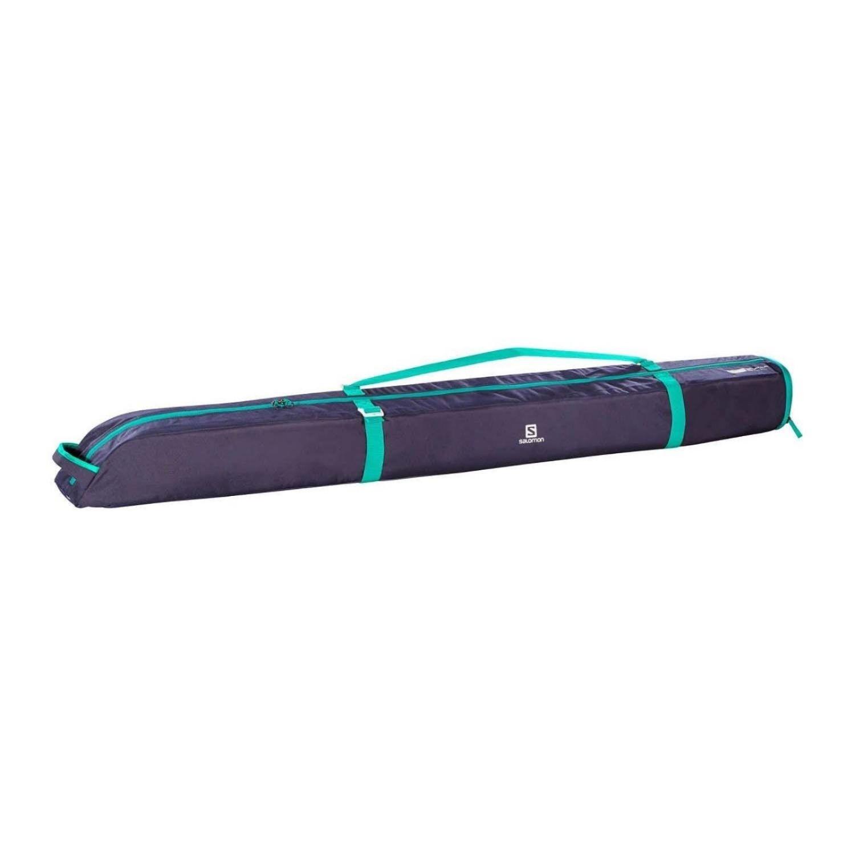 Vak na lyže SALOMON Extend 1P 165 + 20 Purple/Turquoise Fialová