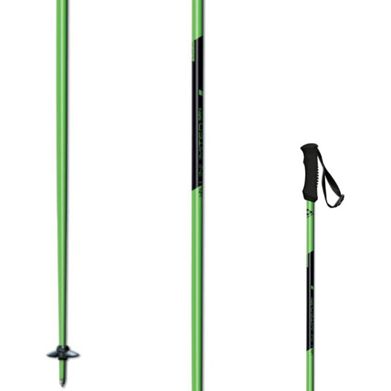 Lyžiarske palice FISCHER Unlimited Green Zelená 125 cm