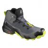 Topánky SALOMON Cross Hike Mid GTX Grey/Yellow