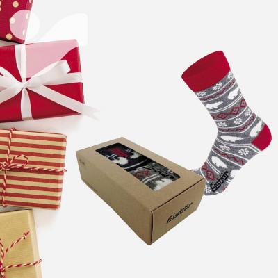 2x Ponožky EISBÄR Lifestyle Gift Box - Darčeková krabička