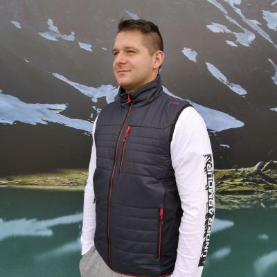 Pánská vesta CAMPAGNOLO Grey