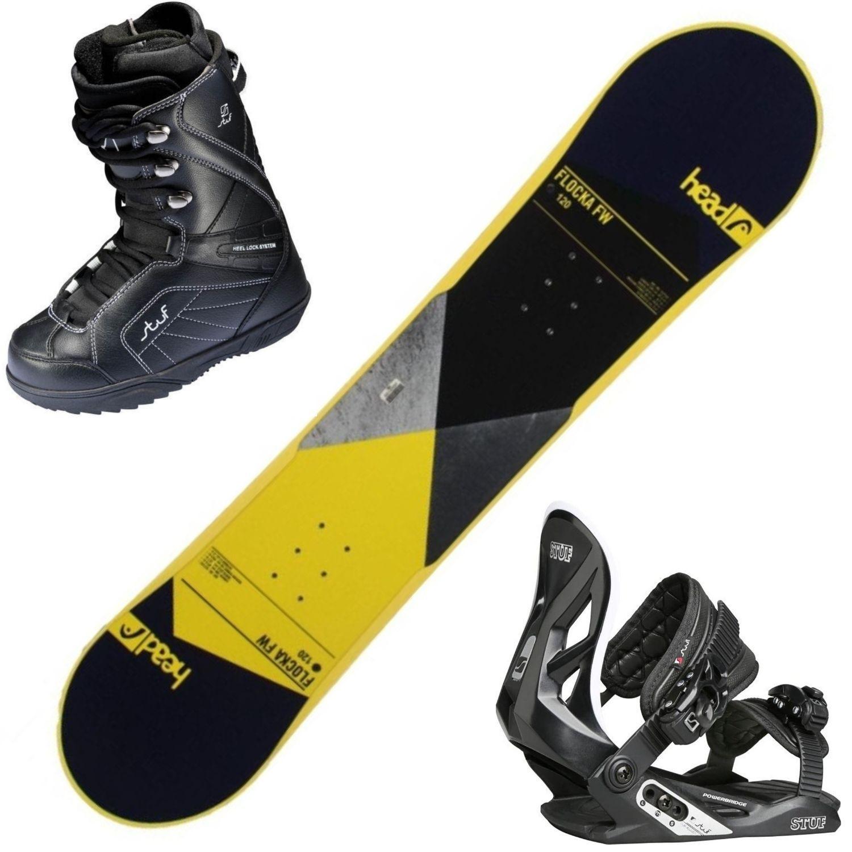Snowboardový set HEAD Flocka + obuv + viazanie 140 cm 25.5