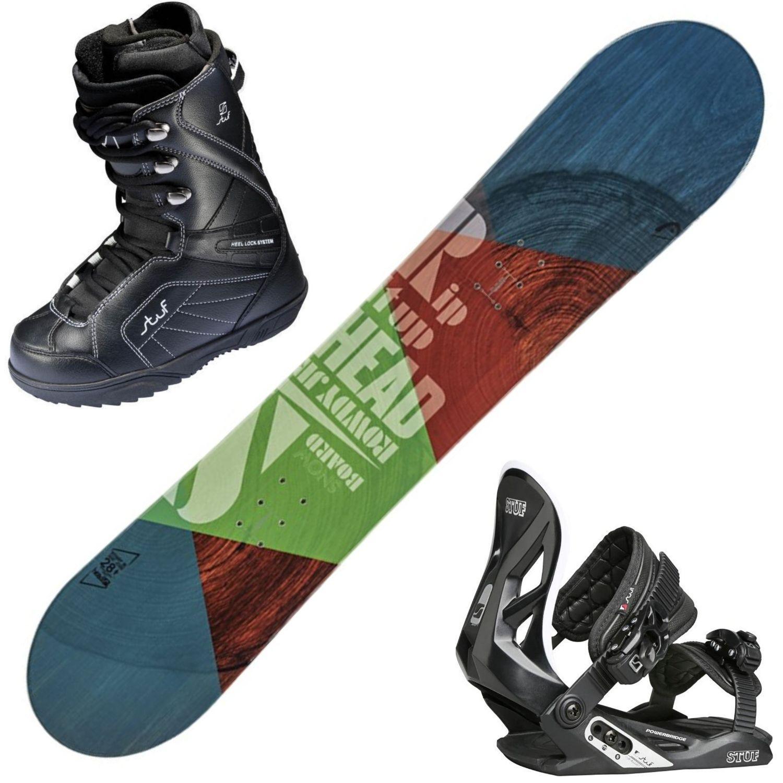 Snowboardový set HEAD Rowdy + obuv + viazanie 128 cm 25.5