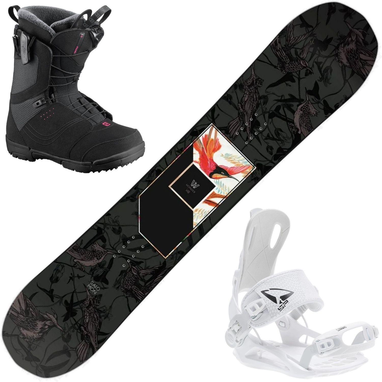 Snowboardový set SALOMON Wonder + viazanie FASTEC + obuv 152 cm 27.0