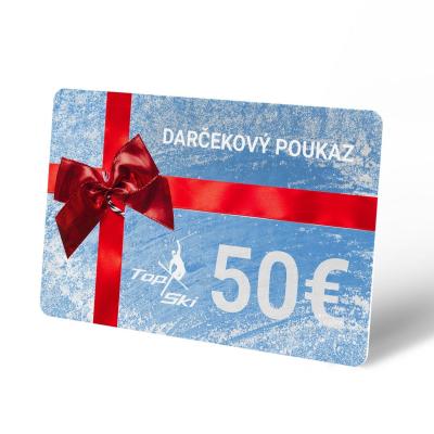 Darčekový poukaz 50 €