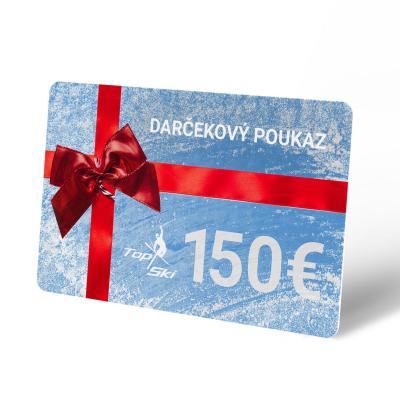 Darčekový poukaz 150 €