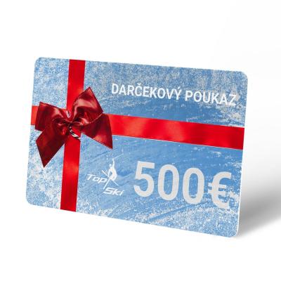 Darčekový poukaz 500 €
