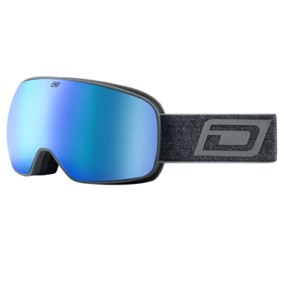 DIRTY DOG Google Streif Matte Grey/Blue