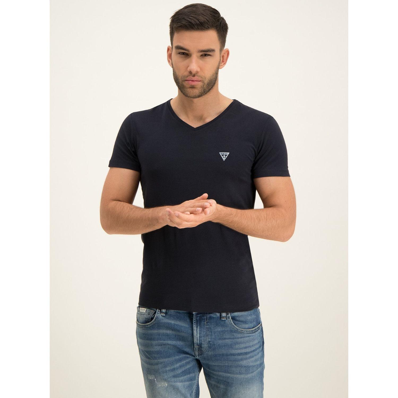 Pánske tričko GUESS 2-Pack Black Čierna S