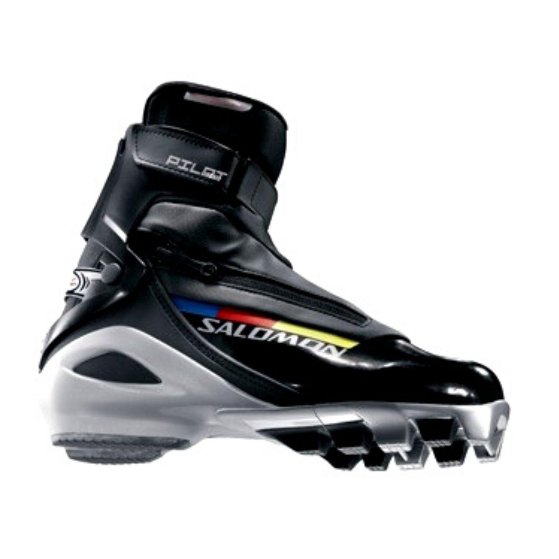 Topánky na bežky SALOMON Pro Combi - SNS Pilot Čierna 36 2/3