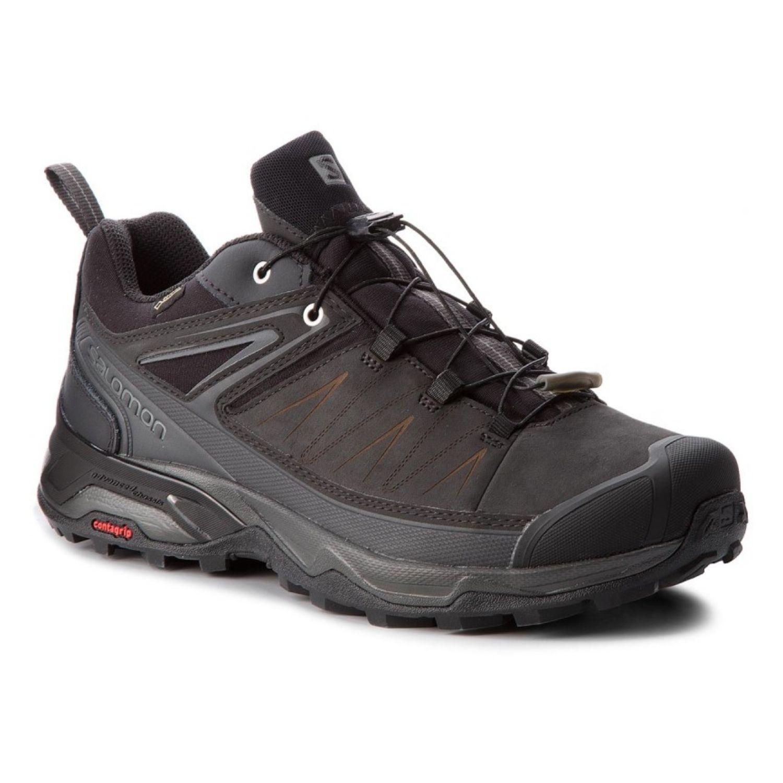 Kožené topánky SALOMON X Ultra 3 LTR Gore-Tex Čierna 44