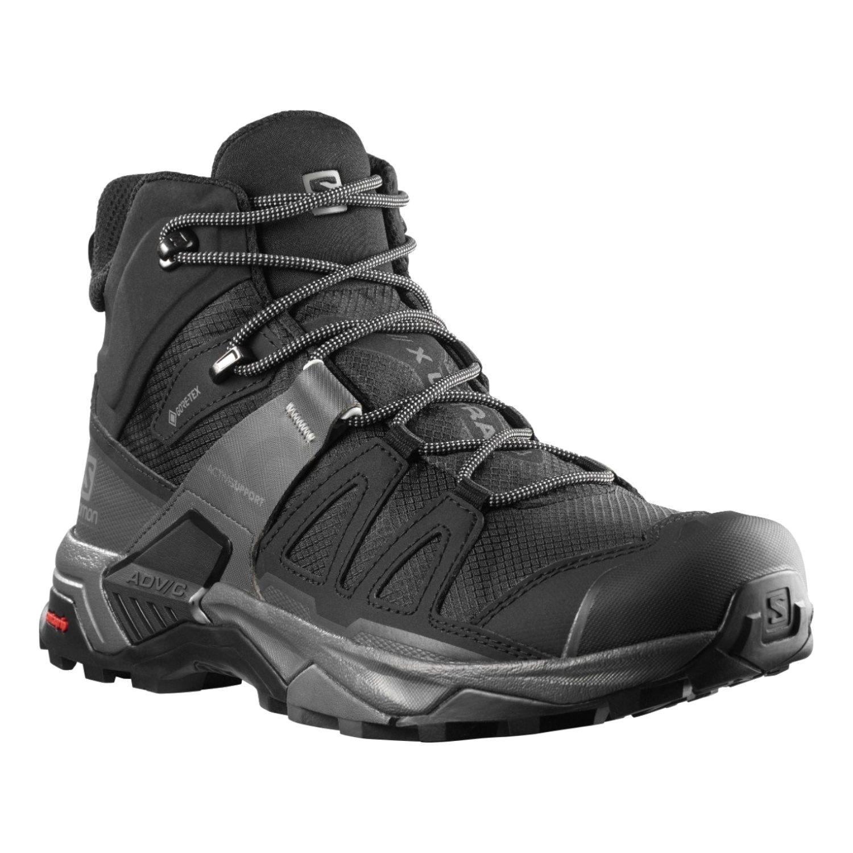 Turistické topánky SALOMON X Ultra 4 MID GTX Black Čierna 46