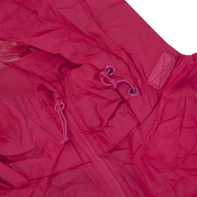 Zbaliteľná bunda NORTHFINDER Northkit 2L Rose