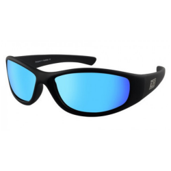 Slnečné okuliare DIRTY DOG Boofer Satin Black Grey/Ice Blue Polarised