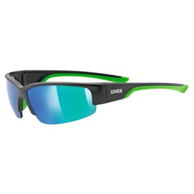 UVEX Sportstyle 215 Black/Green