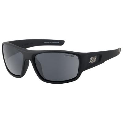 Slnečné okuliare DIRTY DOG Muffler Satin Black/Grey Polarised