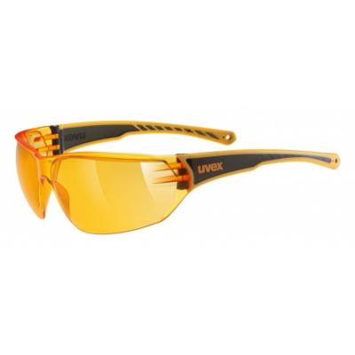 UVEX Sportstyle 204 Black/Orange