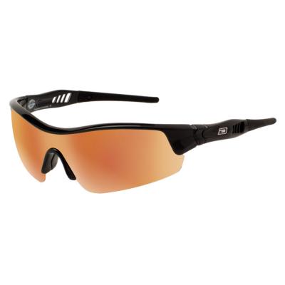 Slnečné okuliare DIRTY DOG Sport Edge Black Gray/Gold Fusion Mirror