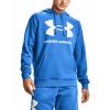 UNDER ARMOUR Rival Fleece Big Logo Blue
