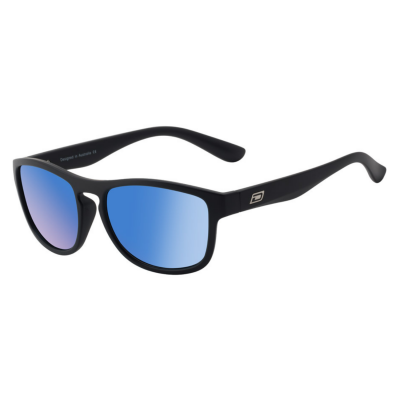 Sluneční brýle DIRTY DOG Venturer Satin Black Grey/Ice Blue Mirror Polarised