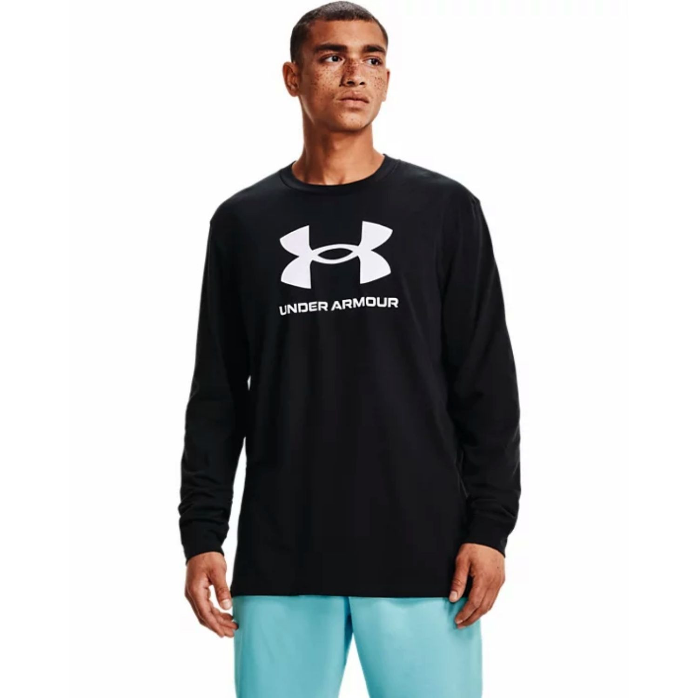 Tričko UNDER ARMOUR Sportstyle Logo LS Black Čierna XXL