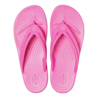 Žabky CROCS Crocband Flip W Electric Pink