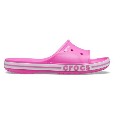 Šľapky CROCS Bayaband Slide Electric Pink