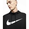 NIKE Dri-FIT Men's Pullover Tr Black