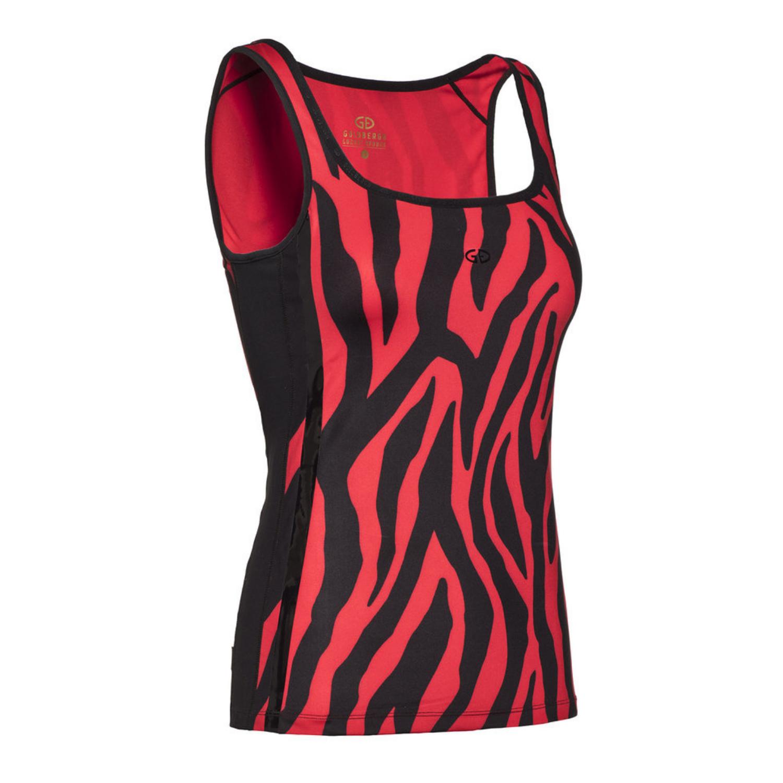 Tielko Goldbergh Telma Tiger Red Červená XS
