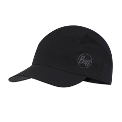Šiltovka BUFF Pack Trek Cap Solid Black