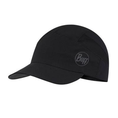 Šiltovka BUFF Pack Run Cap Solid Black