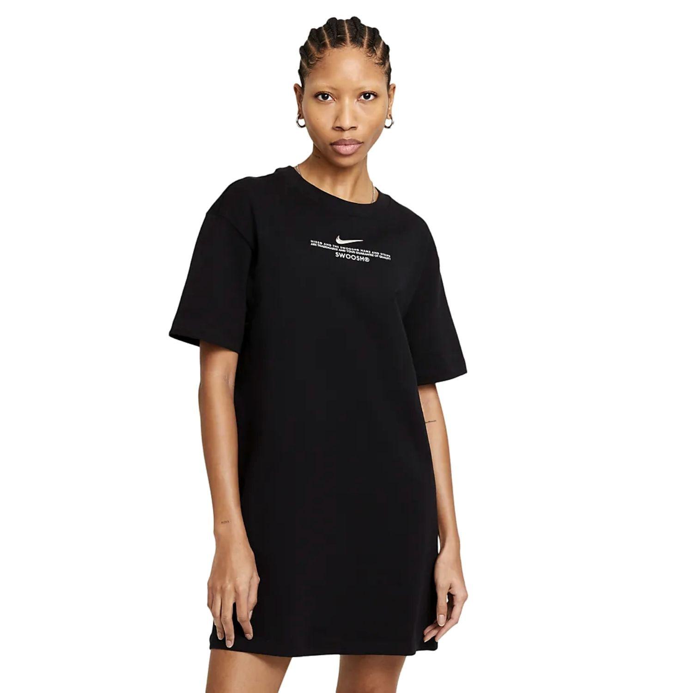 Šaty NIKE Sportswear Swoosh Women's Black Čierna S