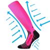 Kompresné podkolienky & návlek na zápästie VOXX Flex Neon Pink