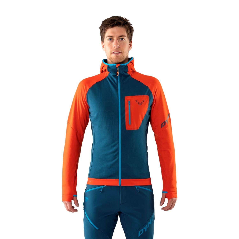 Mikina DYNAFIT Radical Polartec® Hooded Jacket M Oranžová XXL