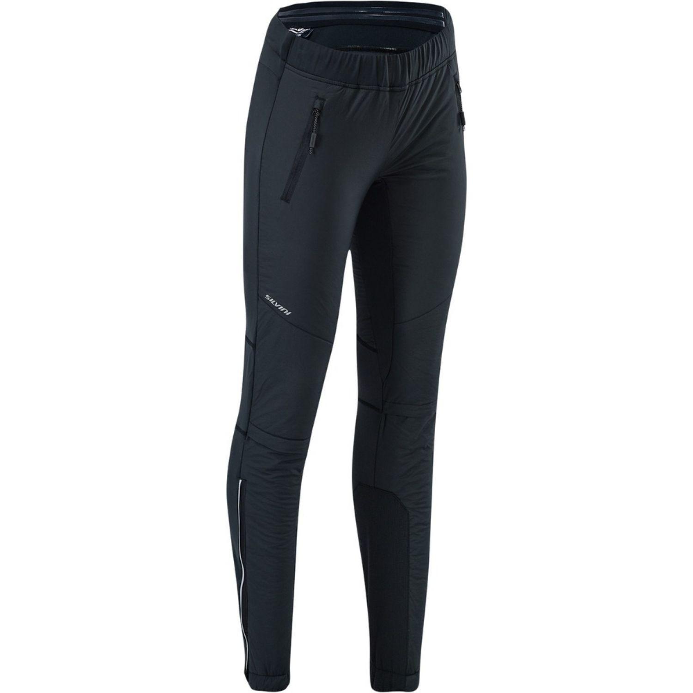 Dámske nohavice SILVINI Termico Primaloft Čierna XL