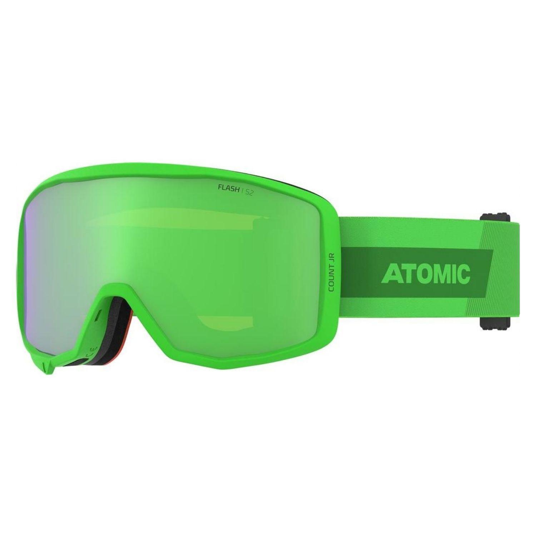 Detské okuliare ATOMIC Count JR Cylindrical Lime Zelená
