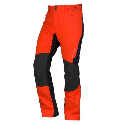 Hybridné softshellové nohavice NORTHFINDER Hybrid Hrmovec Red