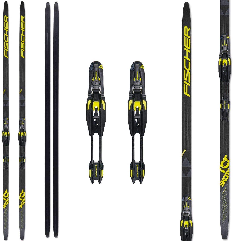 Bežecké lyže FISCHER RCR Skate Stiff s viazaním NNN 186 cm 70 - 80 kg