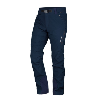 Nohavice NORTHFINDER Softshell 10K/5K Javon Dark Blue