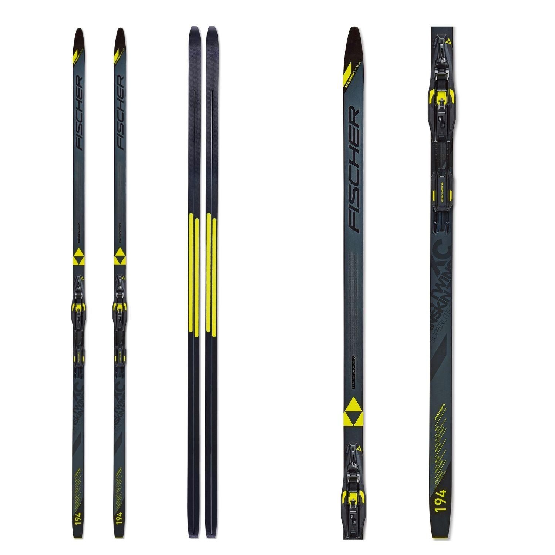 Bežkový set FISCHER Twin Skin Superlite EF Stiff so stúpacím pásom a viazaním NNN 199 cm 90 - 100 kg