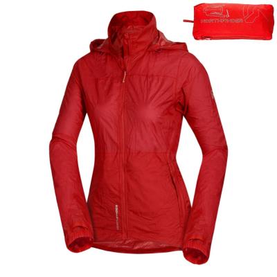 Zbaliteľná bunda NORTHFINDER Northkit 2L Red
